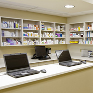 Veterinary Pharmacy Room