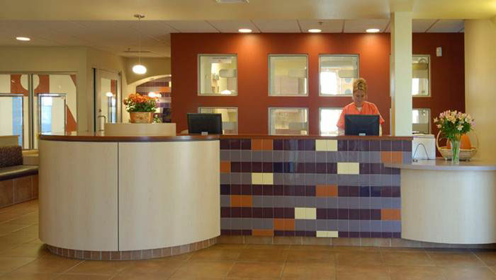 b08-Veterinary-Clinic-Reception-Desk Natural Light Home Designs on modern natural home designs, modern ranch style house designs, kitchen island designs, light natural lighting,