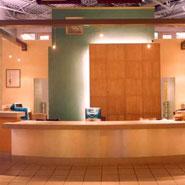 Animal Hospital Reception Desk