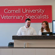 University Veterinary Reception