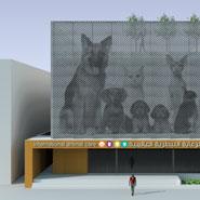 Animal Care Facility Exterior
